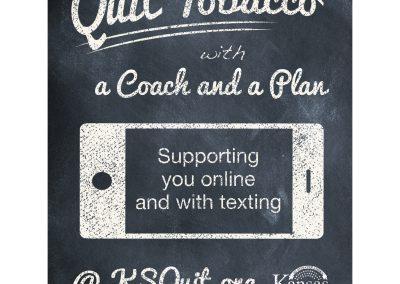KDHE Quit Poster