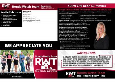 RWT Newsletter Outside