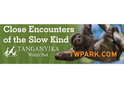 TWP Billboard Sloth