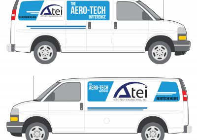 Aero-Tech Engineerings inc. Van decal